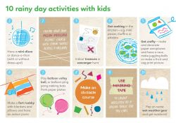 10 rainy day activities with kids