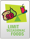 Limit Occasional Foods